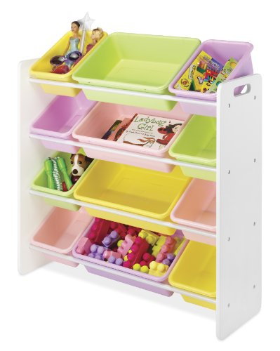 Kid's Toy Storage - 12 Bins