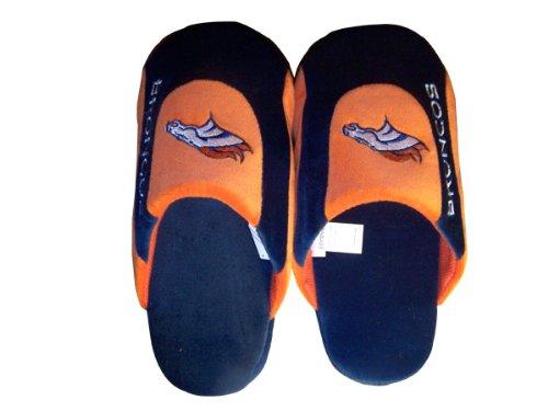 Piedi Felici E Piedi Comodi - Pantofole E Pantaloncini Da Uomo Nfl Low Pro Con Licenza Ufficiale Denver Broncos Low Pro