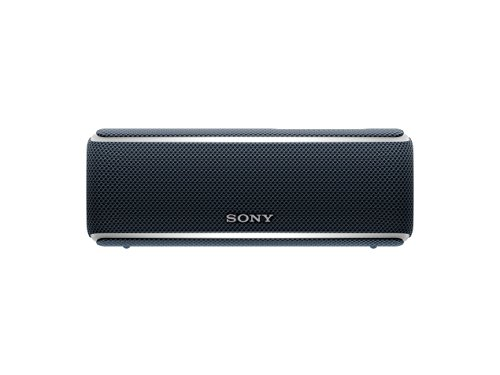 Sony SRSXB21B – Altavoz portátil Bluetooth (Extra bass, modo sonido live, party booster y luces de fiesta llamativas…