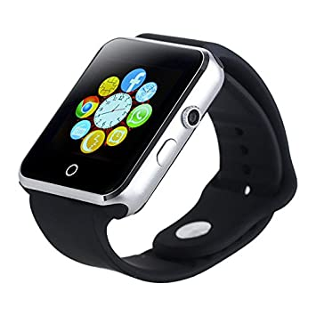 viwel® A11/V1 Smart Watch facebook whatsapp Reloj Inteligente Bluetooth V3.0 Pantalla táctil /Monitor ...