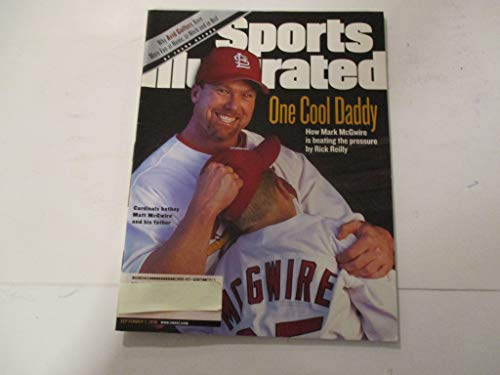 SEPTEMBER 7, 1998 SPORTS ILLUSTRATED FEATURING MARK AND MATT McGWIRE OF ST. LOUIS CARDINALS *ONE COOL DADDY -BY RICK REILLY* MAGAZINE