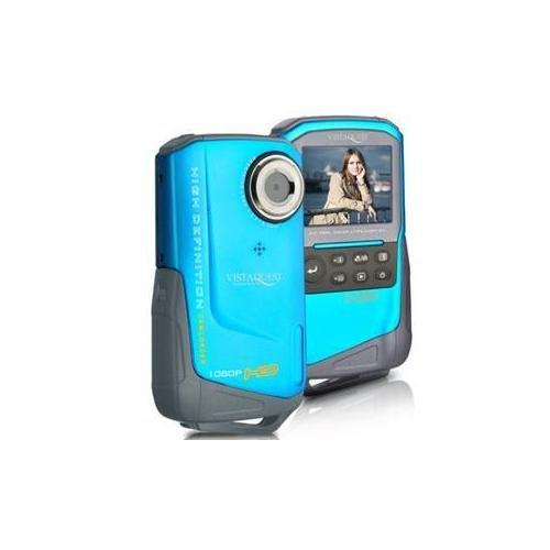 VistaQuest DV-820 Sport 1080p HD Waterproof Video & 8MP Digital Camera (Blue)