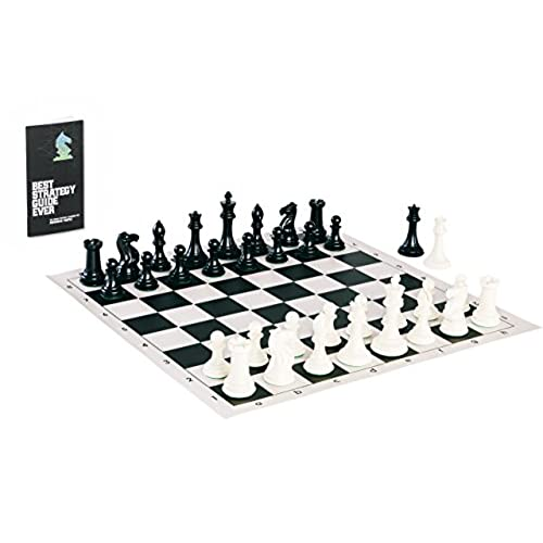 ULTRA COOL CHESS SET: Tournament Chess Set With Quadruple Weighted Chess  Pieces