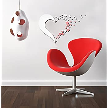 it large me decoration heart wall shaped guide art decor