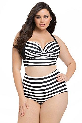 0fcd4a50382 Cross Back Plus Size Swimwear | Shop Cross Back Plus Size Swimwear ...