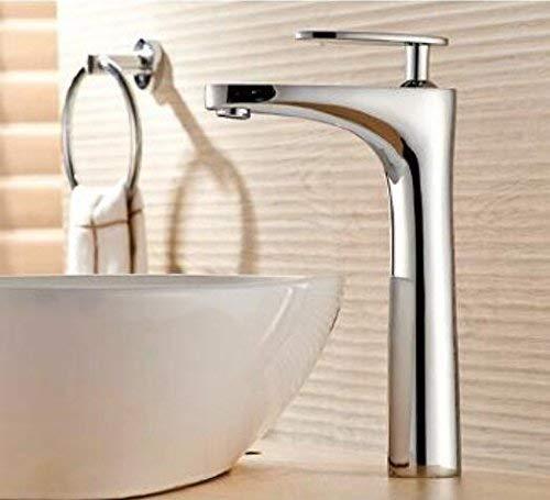 JingJingnet 新しい到着の浴室の蛇口高級高品質クローム仕上げ冷たいと熱い浴室のシンクの蛇口盆地の蛇口、ウォータータップミキサー (Color : B) B07RVJD8H2 B