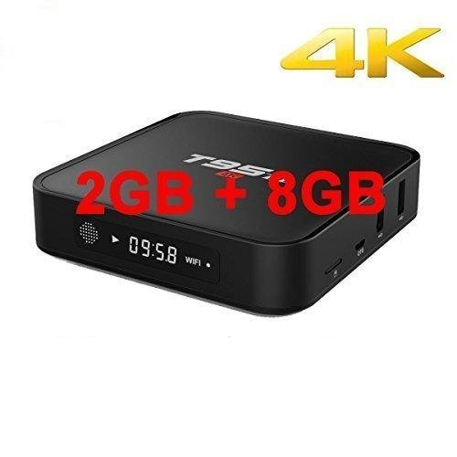 Susay T95M Android 5.1 OS TV Box Quad Core 2GB DDR3 RAM 8GB emmc Flash 4K UHD 3D HDMI Amlogic S905 Miracast WiFi DLNA