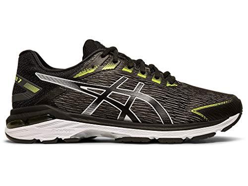 ASICS Men's GT-2000 7 Twist Running Shoes, 11M, Black/Black