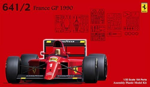 フジミ模型 1/20 GP-5 フェラーリ641/2 フランスGP仕様の商品画像