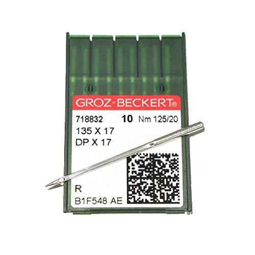 - General 135x17 Walking Foot Industrial Sewing Needles Size 20 10 Pack Groz-Beckert