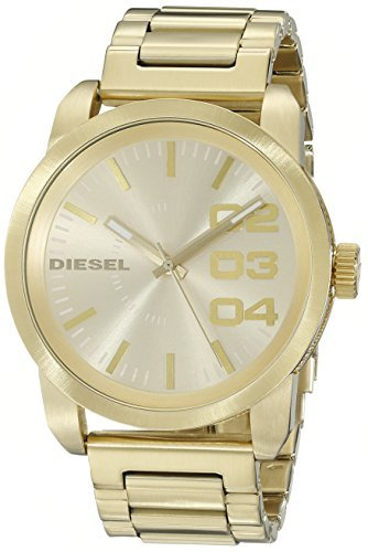 Diesel Men's DZ1466 Double Down Gold Watch