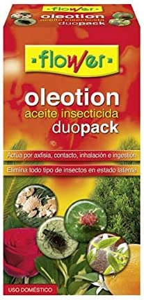 Flower 30547 - oleotion Duo Pack Aceite insecticida, 250 + 50 ml