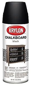 krylon i00807 chalkboard aerosol spray paint. Black Bedroom Furniture Sets. Home Design Ideas