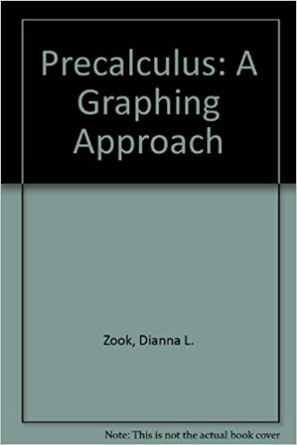 Precalculus: A Graphing Approach Student Study Guide, Third