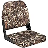 attwood Camouflage One Size 98395CAMO Low Back Fishing Seat-Camo