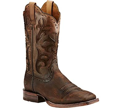 Amazon.com | Ariat Men's Cowboss Equestrian Boot | Western