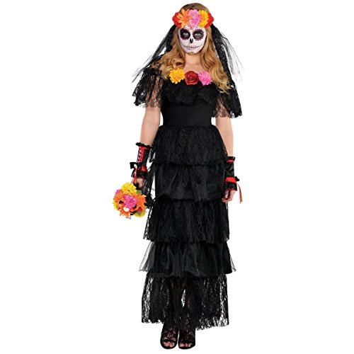 Day of The Dead Dress - Adult Standard