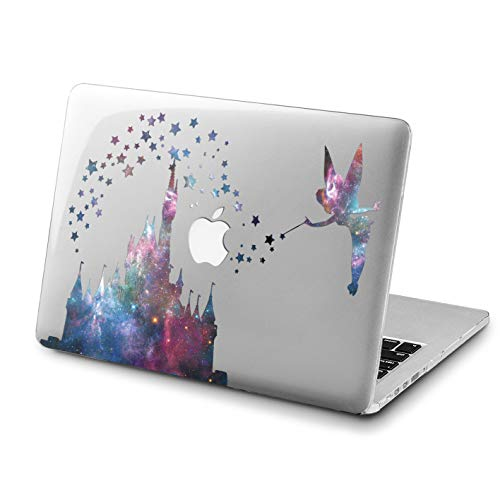 Lex Altern New MacBook Pro 13 inch Case Mac 15 2018 A1990 A1707 Retina Cute Castle 12 Cover Hard Air 11 Apple 2017 Clear 2016 Disney Tinkerbell Laptop Protective Girly Print Galaxy A1502 Stars 2015