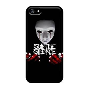 SherriFakhry Iphone 5/5s Best Hard Cell-phone Case Provide Private Custom Attractive Suicide Silence Image [Qvb1755kDWh]