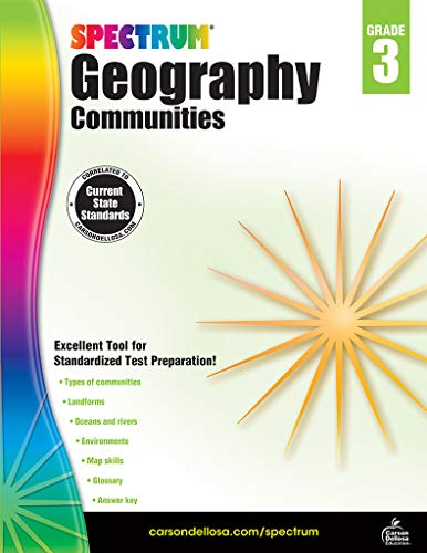 Spectrum Geography, Grade 3: ()