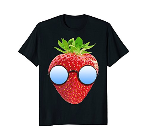 Cool Strawberry With Sunglasses - With Sunglasses California Love From
