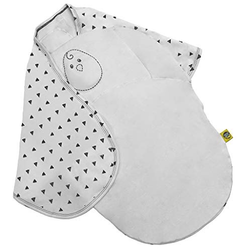 (Nested Bean Zen Swaddle Classic - Swaddle Blanket Cotton Baby Wrap (0-6 m))