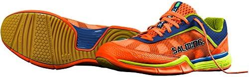 Salming Viper 3.0 Men s Squash Shoe Shocking Orange