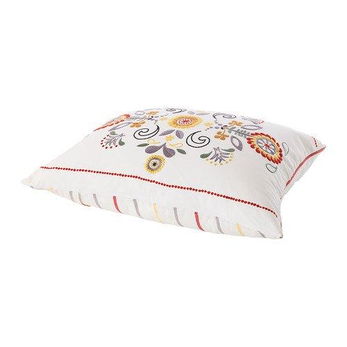 IKEA AKERKULLA - cojín, blanco, multicolor - 50 x 60 cm ...