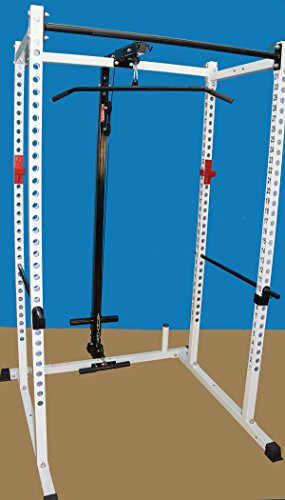 TDS Power Rack, Squat Cage with Lat / Row Attachment Package by TDS