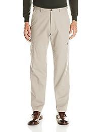 Men's Stretch Comfort Cargo Expandable-Waist Classic-Fit Pant