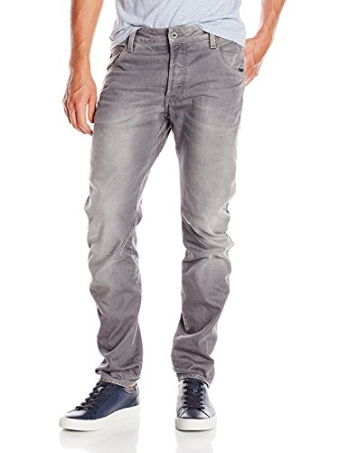 G-STAR Herren Slim Jeanshose Arc 3D - Dust denim, Gr. W33/L34, Grau