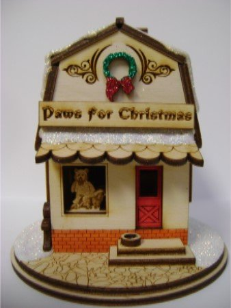 Ginger Cottages - Paws for Christmas GC128 TRC Designs