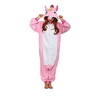 WOTOGOLD Animal Cosplay Costume Unisex Adult Pink Pajamas