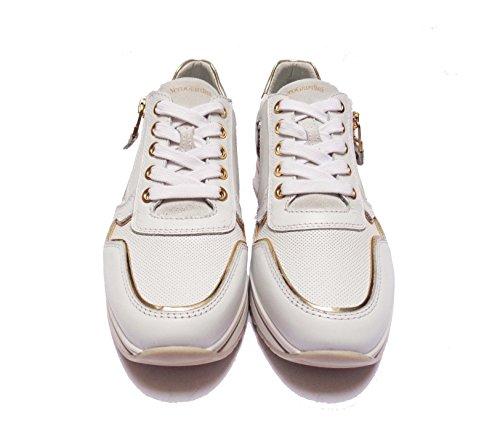 Nero Giardini 5241 Zapatillas Mujeres En Cuero Col. Blanco, Num. 37
