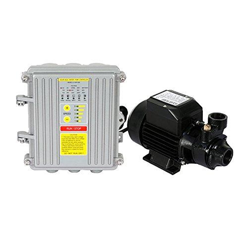 ECO LLC 250W 24V Solar Vortex DC Water Pump & Controller Solar/Battery Powered 2.2M3/H