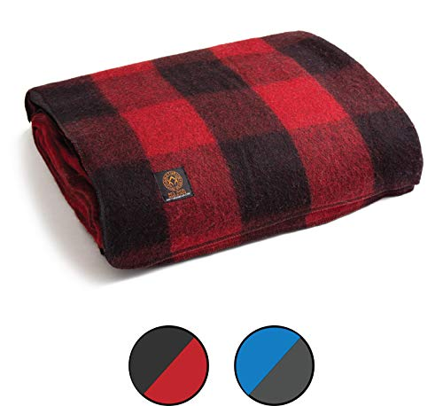 Arcturus Patterned Wool Blankets
