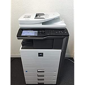 Sharp MX-M453N Copier Printer Scanner Network with 4 drawers staple & hole punch (Certified Refurbished)