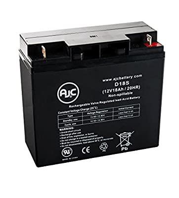 Solar Booster Pac ES1217 Jump Starter 12V 18Ah Jump Starter Battery - This is an AJC Brand174; Replacement
