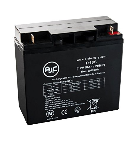 a 3 GT S35005GT/S350 12V 18Ah Wheelchair Battery - This is an AJC Brand Replacement (Daytona 3 Scooter)
