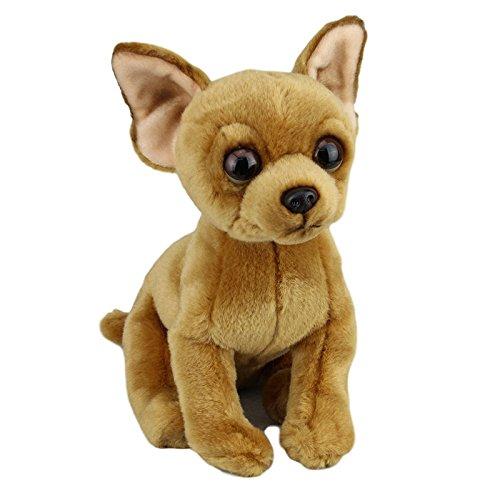 Faithful Friends Chihuahua Dog Short Hair Stuffed Animal 12