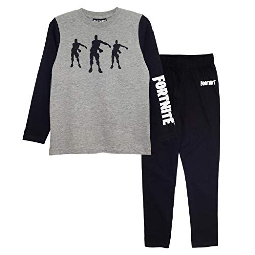 Fortnite Long Pyjama Set for Boys, Flossing Emotes Crew Neck T-Shirt with Pants, 100% Cotton, Official Merchandise, Ages…