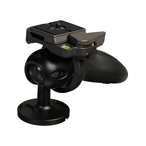 Manfrotto Compact Light Duty Joystick Grip Ball Head (324RC2),Black