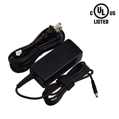 [UL Listed] 65W 45W AC Charger for Dell OptiPlex 3050 3020 Micro All-in-One Desktop Inspiron 3472 3662 24 Vostro 5581 3052 3055 15 20 Laptop Power Supply Adapter Cord (Not Fit 130W)