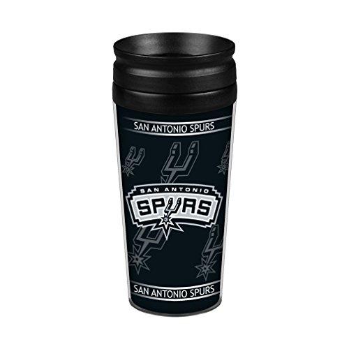 San Antonio Spurs 14oz. Full Wrap Travel - Outlets San Antonio