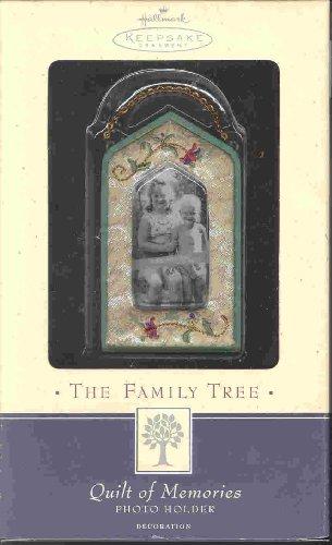 Family Tree Quilt of Memories Photo Holder Hallmark by Hallmark ()