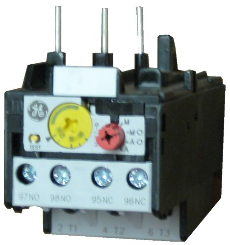 GE Industrial RT1P 3 pole Thermal Overload Relay adjustable from 10-16 AMPS