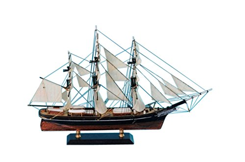 Hampton Nautical Flying Cloud Limited Tall Model Clipper Ship, - Flying Cloud Gifts