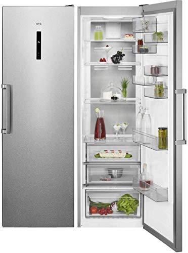 AEG RKB738E5MX Frigorífico de una puerta, Libre Instalación, 1,86 m, CustomFlex, Sistema Cooling 360°, Sistema MultiFlow…