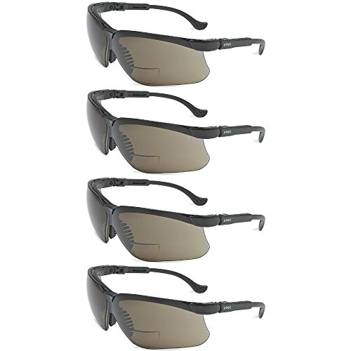 Four (4) Pairs of New Nemesis RX Reader +2.5 Sunglasses