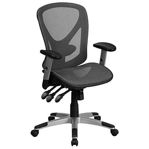 flash-furniture-mid-back-gray-mesh-executive-swivel-office-chair-with-back-angle-and-height-adjustme